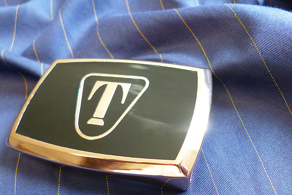 24 Carat Gold belt buckle